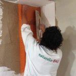 Installazione Pannello Soluzione definitiva Antimuffa Naturale